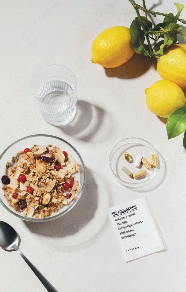 """""""These high-quality vitamin packets cover all your daily supplemental needs,"""" Wood-Tepperberg says of Sakara Rx The Foundation"""