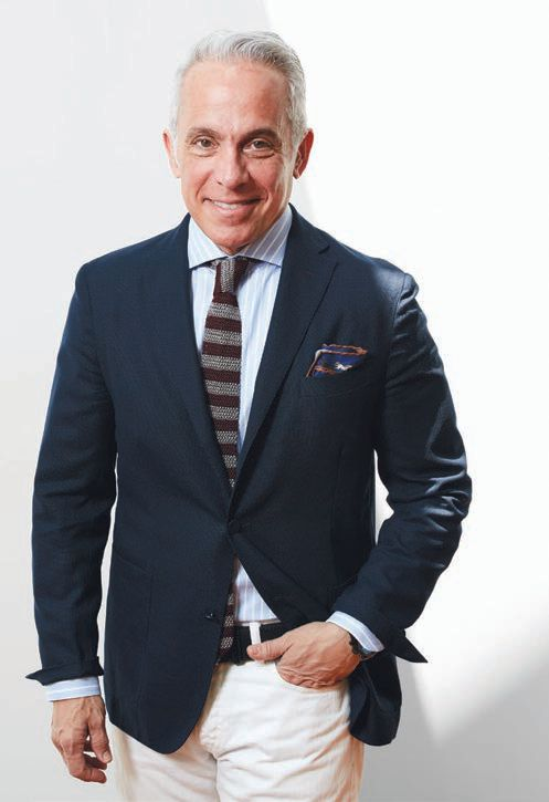 Geoffrey Zakarian (geoffreyzakarian.com) also serves as chairman of City Harvest Food Council, a New York organization that fights hunger. PHOTO BY: VIATEK
