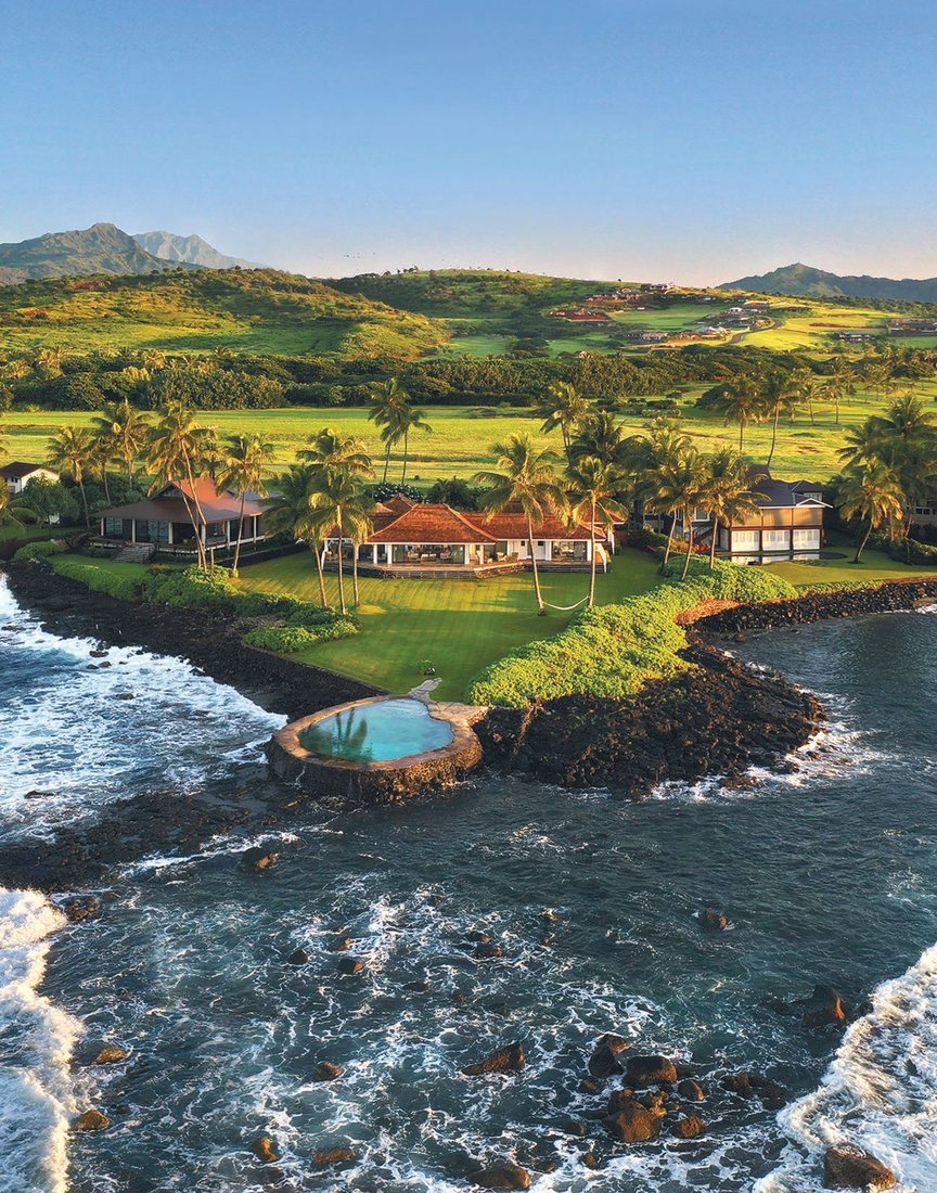 This spectacular Koloa, Kaua'i pool can be yours. Data courtesy of Hawaii Life Real Estate Brokers PHOTO BY GREGORY BLORE/COURTESY OF CORCORAN PACIFIC PROPERTIES
