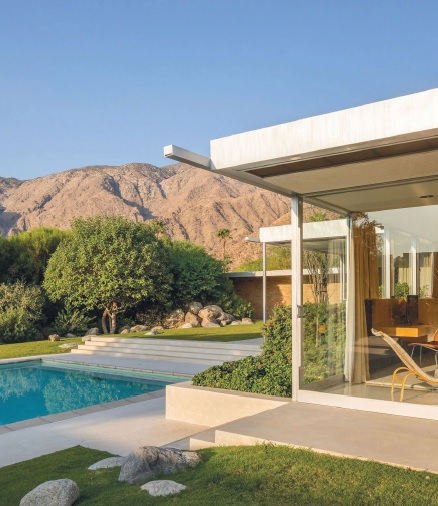 Data courtesy of Chartwell Escrow for the Palm Springs area (December 2020) 470 N. Vista Chino, also known as the Kaufmann Desert House PHOTO BY DANIEL SOLOMON FOR VISTA SOTHEBY'S INTERNATIONAL REALTY