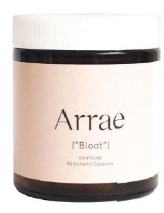 """""""Great to help you debloat,"""" she says of Arrae Bloat. PHOTO COURTESY OF BRANDS"""